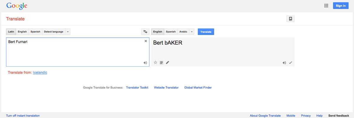Bert Furnari Is